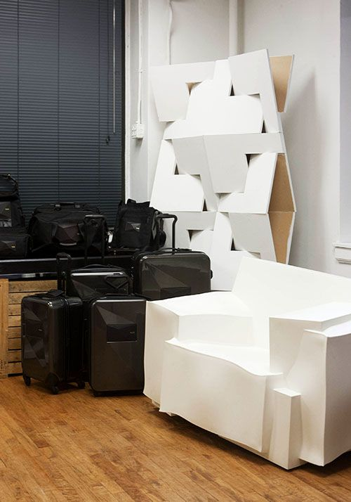 CAPPELLINI Tron armchair in white by Dror