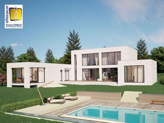 architecture maison en l recherche google - Facade Maison Moderne