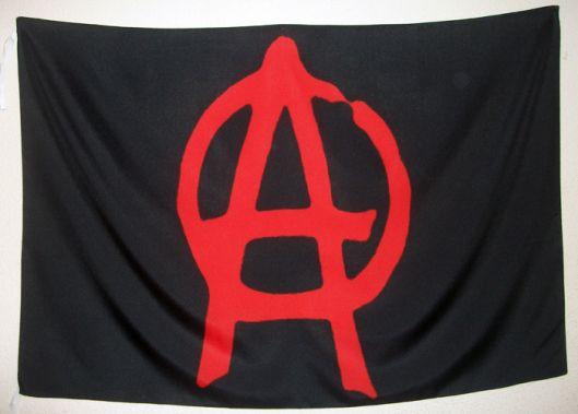 Bandera Anarquista Negra  Bandera Anarquista Negra. Dimensiones aproximadas 110 cm. X 75 cm. Tamaño mediana , calidad material poliéster, peso aproximado 50 gramos.