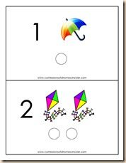Lots of great preschool printable games activities