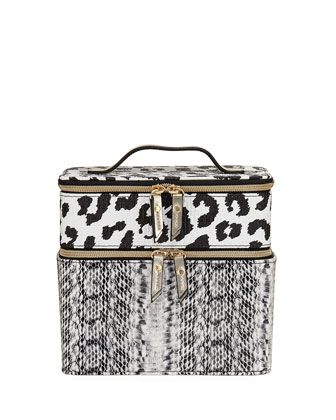 Train+Combo+Animal-Print+Case,+Multi+by+Neiman+Marcus+at+Neiman+Marcus+Last+Call.