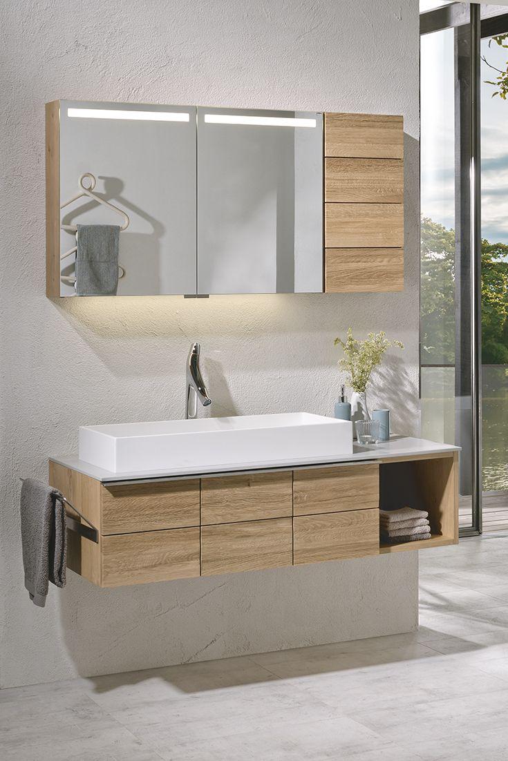 Badezimmer V Montana Von Voglauer Mit Lackierter Wildeiche Mobel Letz Ihr Online Shop Badezimmer Kleine Badezimmer Inspiration Badezimmerideen