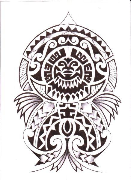 another-beautiful-polynesian-tattoo-design.jpg (437×600)