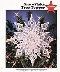 Image result for free plastic canvas snowflake patterns