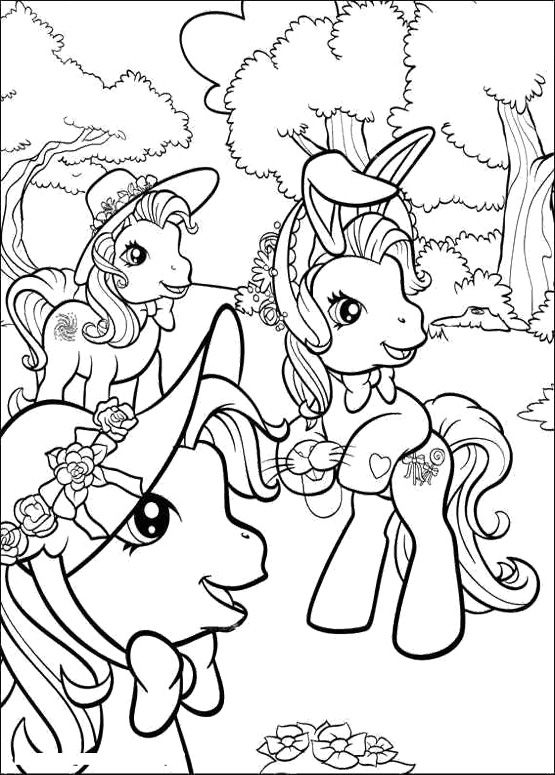 My Little Pony Play In The Woods