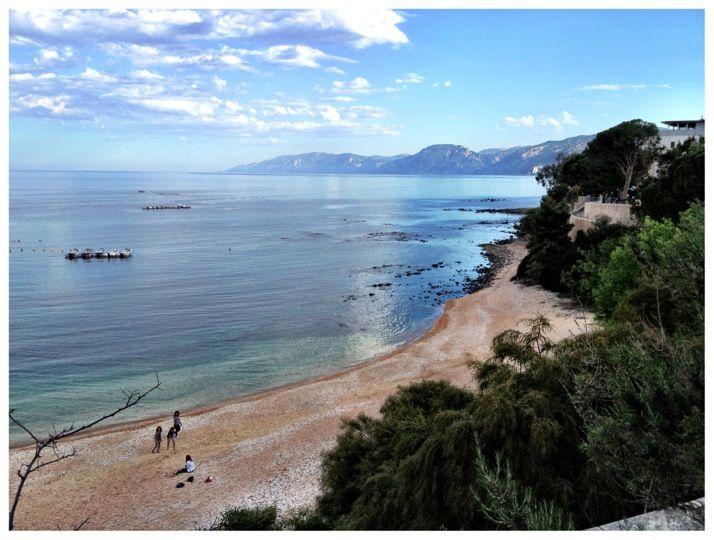 Cala Gonone nel Nuoro, Sardegna