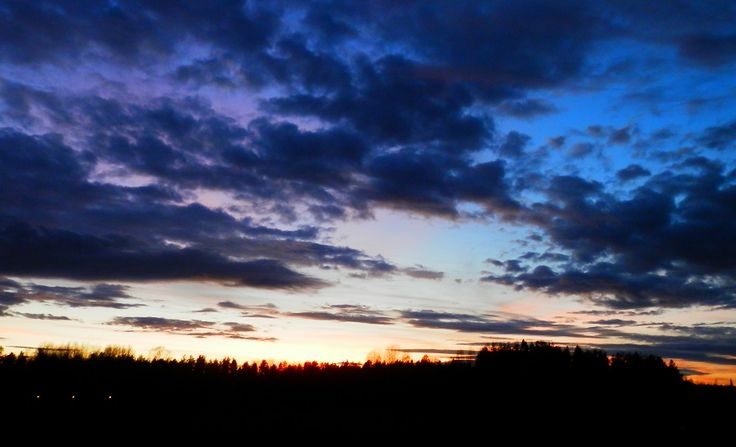 #sunset #Finland #October #sky