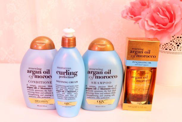 Review Organix Argan Oil Of Morocco Hair Products ريفيو مجموعة زيت الأرغان للشعر من اورغانيكس The Artistic Hands Argan Oil Morocco Shampoo Argan Oil