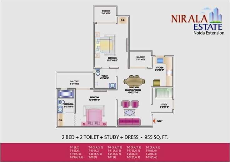 Nirala Estate offers pocket friendly residential flats at your favorite location tech zone 4 where surrounded by IT companies with 80% open space.