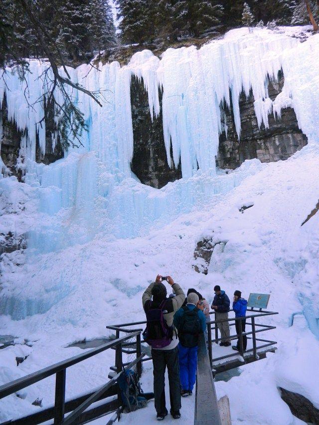 Upper Falls in te Rocky Mountains