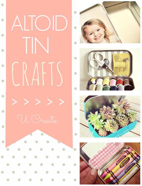 Altoid Tin Crafts (over 15 ideas!) - U create