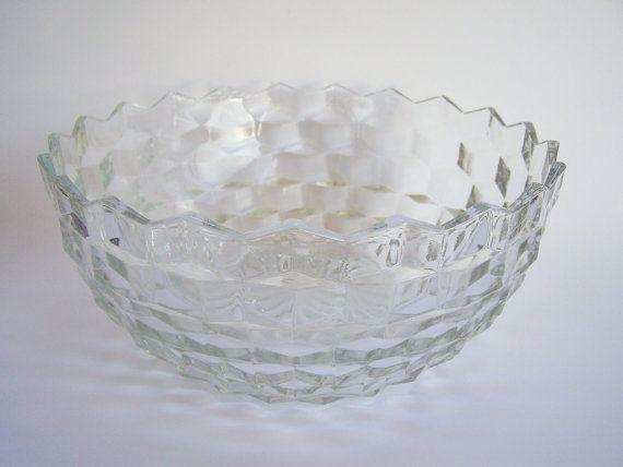 Salad Or Dessert Bowl In Fostorias American By DellaRayVintage $18