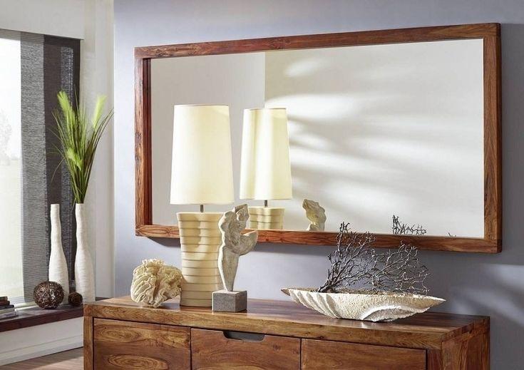 DUKE #130 Masívny indický palisander, zrkadlo