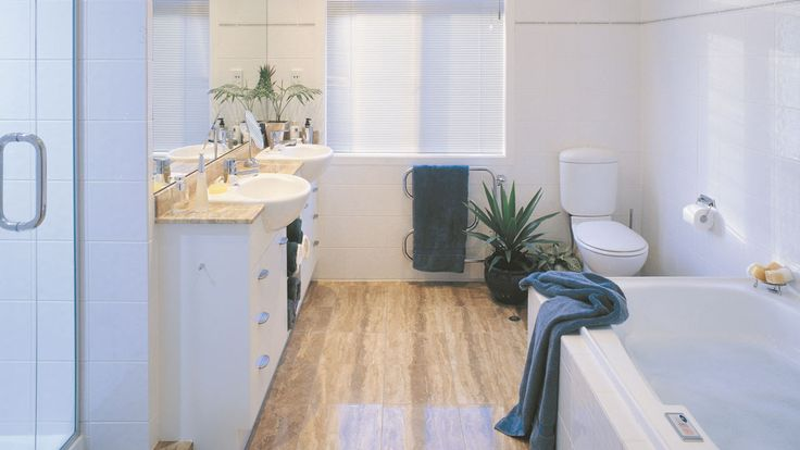 Dream Zone - Mitre10 - Bathroom flooring is a great way to add style and could even be a feature piece.