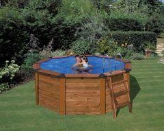 Bazén s obložením z pravého dřeva, Nature Wood pools
