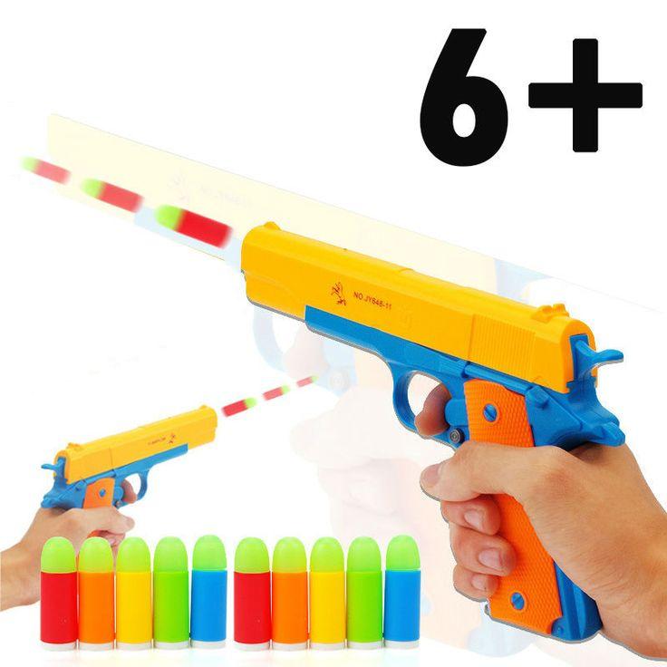 Classic M1911 Gun Toy Mauser Pistol Children's Toy Guns Soft Bullet Gun Plastic Revolver Kids Fun Outdoor Game Dolls Retail