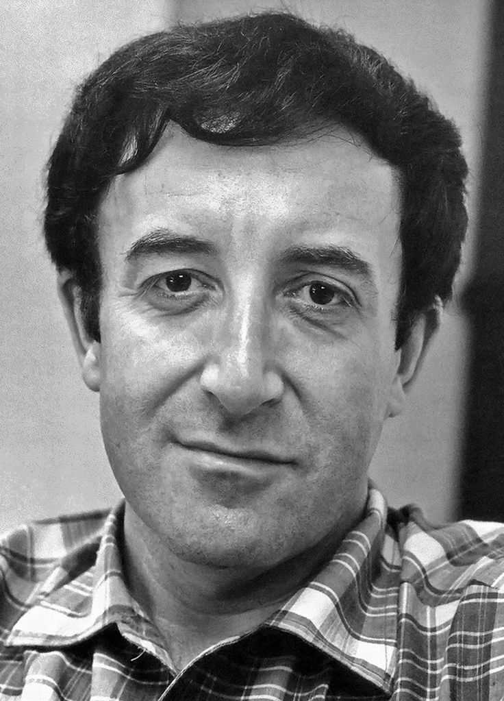 Peter Sellers, British actor  comic, best known as Chief Inspector Clouseau in  the Pink Panther series of movies.
