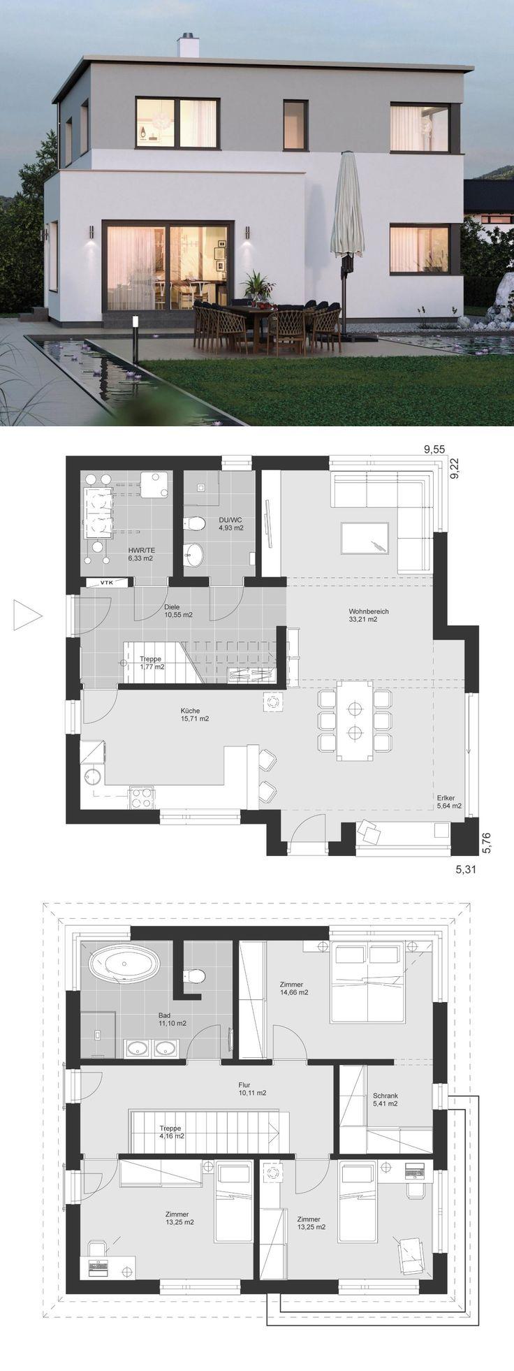 Modern Villa Contemporary Minimalist Style Archite…