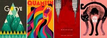 El Burlador: Viernes de afiche (en sábado) carteles de bandas m...