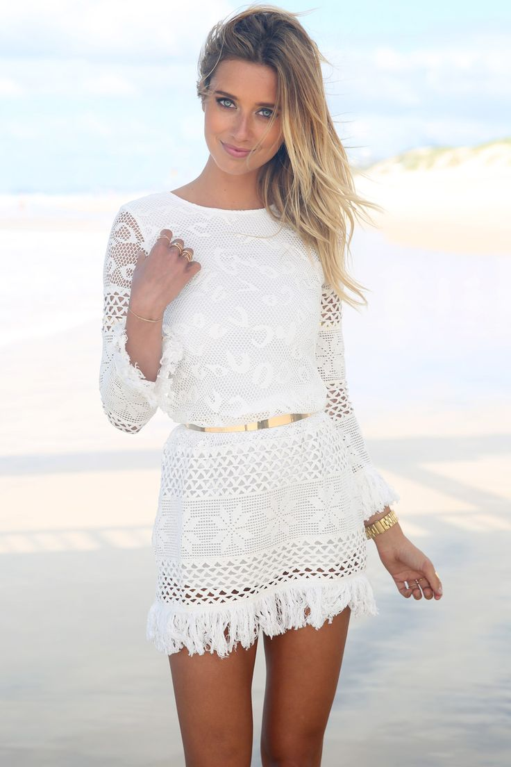 17 Best images about Little White Dress on Pinterest | Lace, White ...