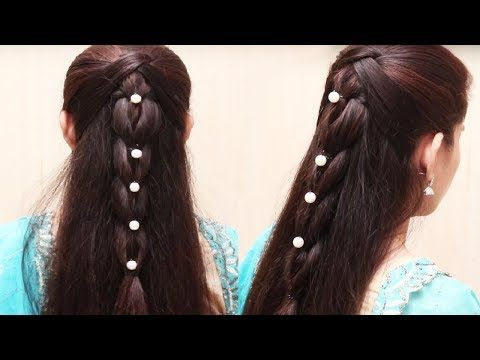 Easy Hair Style for Long Hair // Ladies Hair Style Videos 2017 - PART3 - YouTube