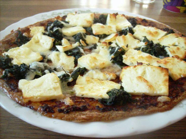 Mediterrane Thunfischpizza ohne Mehl 1