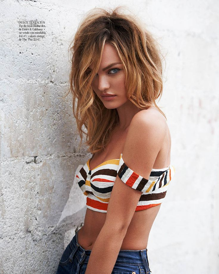 Insolent Beauty :   CANDICE SWANEPOEL IS SEXY IN DENIM FOR VOGUE SPAIN APRIL 2013 BY MARIANO VIVANCO