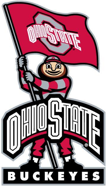Ohio State Buckeyes Mascot Logo - NCAA Division I (n-r) (NCAA n-r ...