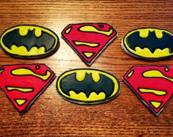 SuperMan Cookie/Bread CutterParty by 3Dexpressions on Etsy