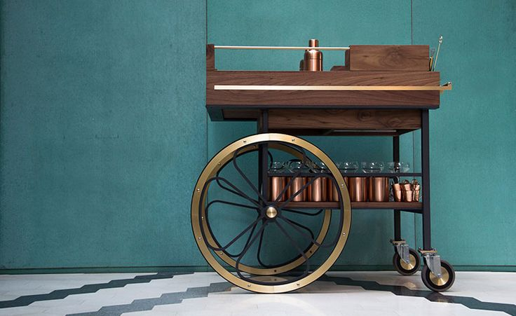 Shaken and stirred: Studio Caramel brings back the bar cart in Beirut