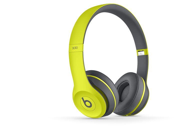 Beats Kopfhörer Günstig Solo 2 Wireless Active Kopfhörer gelb