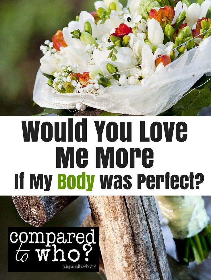 Powerful story of a woman's struggle with body image growing up and how becoming a Christian helped her find new life.