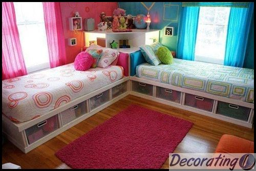 Shared Bedrooms For Teenage Girls | Boy And Girl Shared Bedroom Ideas 1 Boy  And Girl Shared Bedroom Ideas | Lauren U0026 MIllieu0027s Room Ideas | Pinterest ... Idea