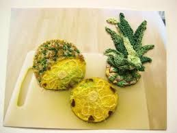 「embroidery pineapple」の画像検索結果