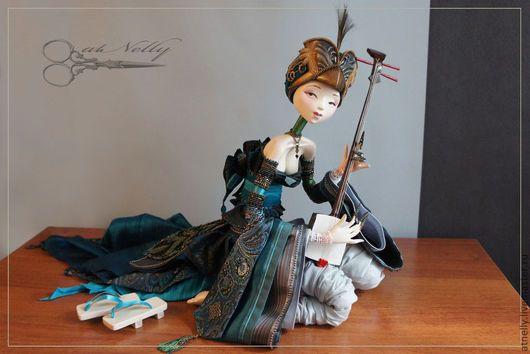 Коллекционные куклы ручной работы. кукла