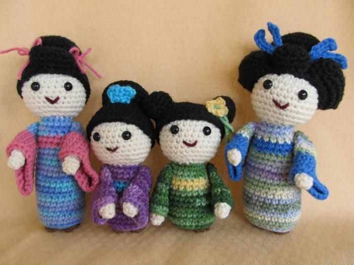 Free Amigurumi Kokeshi Doll Patterns : Amigurumi bunny free pattern u how to amigurumi