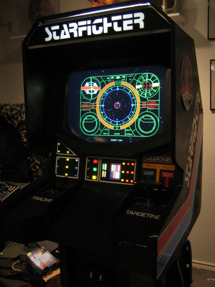 The Last Starfighter ~ the game from one of my favourite Sci Fi movies! Awesome!