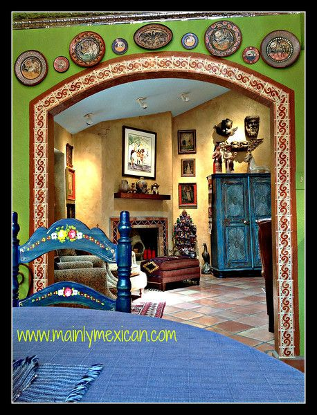 Best 25 mexican style homes ideas on pinterest spanish for Mexican home decorations