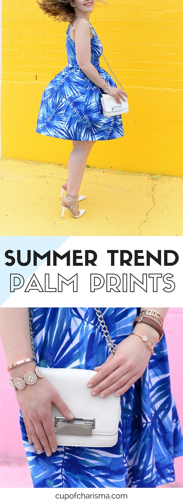 Summer Trend: How to Style a Palm Tree Print Staple Dress http://cupofcharisma.com/2016/06/palm-tree-printed-dress/?utm_campaign=coschedule&utm_source=pinterest&utm_medium=Jillian%20-%20Cup%20of%20Charisma&utm_content=Palm%20Tree%20Print%20Dress