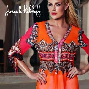 Designers We Love: Joseph Ribkoff. Available at both store locations. #martas #martasboutique #josephribkoff