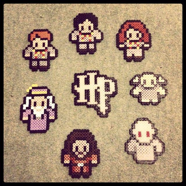 Harry Potter hama perler beads by beckyellen_xo