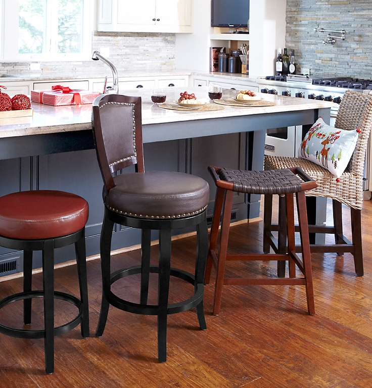 Natural Colette Counter Stool Flax Home Decor