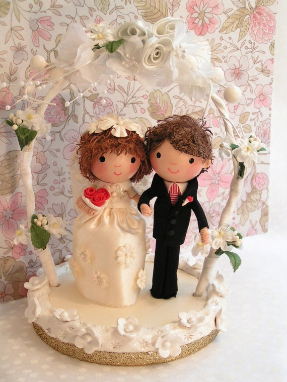 Pinterest Wedding Cake Toppers