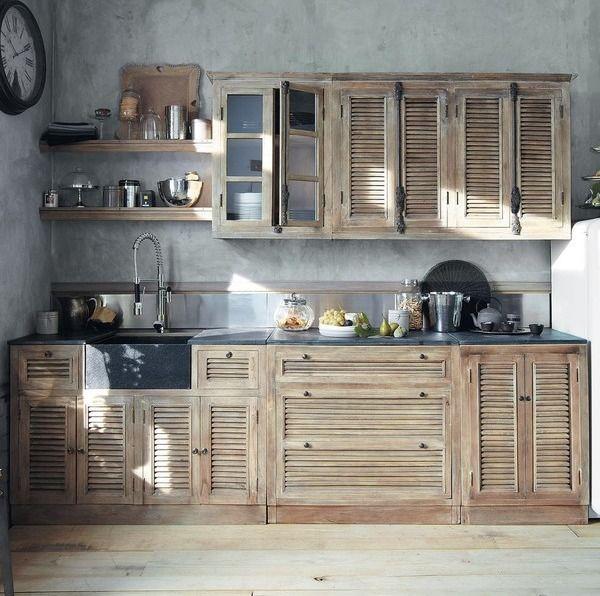 reusing old wooden shutters reuse ideas pinterest. Black Bedroom Furniture Sets. Home Design Ideas