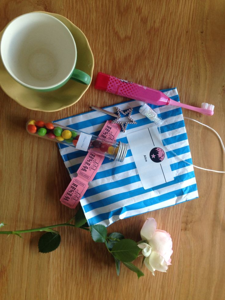 Sleepover party pack- toothbrush, three wishes, sleep dust, dream drops