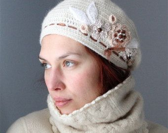 Items similar to PDF pattern for Crocheted beret style hat for kids (3-6 yo) on Etsy
