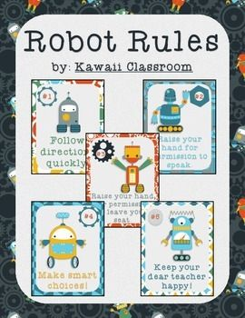 Robot Rules (WBT Rules)                                                                                                                                                     More