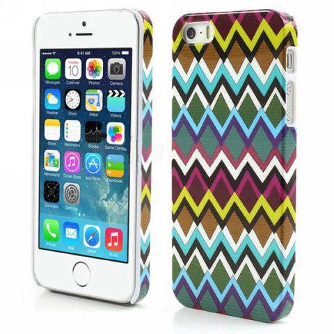 Aztec Art Design Hard Back Case Cover for Apple iPhone 5 5s waves – Bracevor