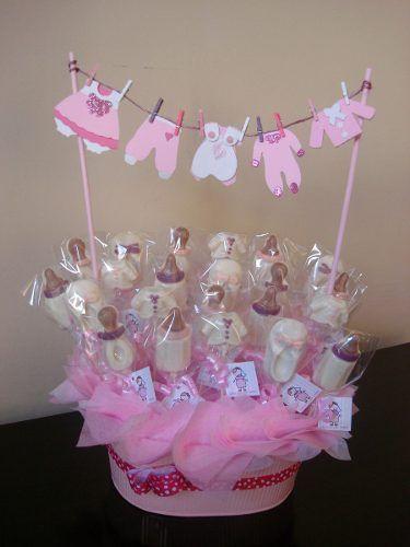 Centros De Mesa Para Bautizo O Baby Shower