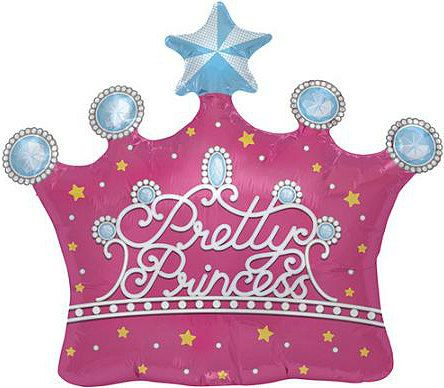 Princess Balloon Princess Party Balloon Large by PartySurprise